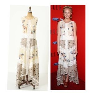Field Biology Floral Maxi Dress By Leifnotes